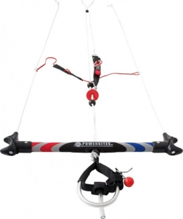 CARBONOVÁ HRAZDA pro powerkiting - De-Power Carbon Control Bar 50 cm